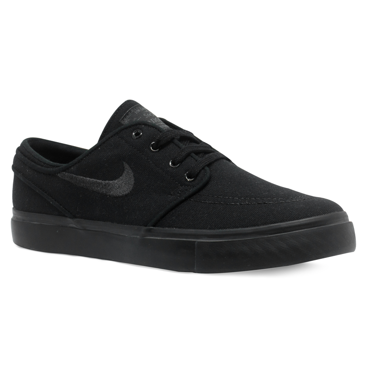 detailed look 94446 06e5f ... Tênis Nike Sb Zoom Stefan Janoski Canvas Preto Total - Via Skate Shop  ...