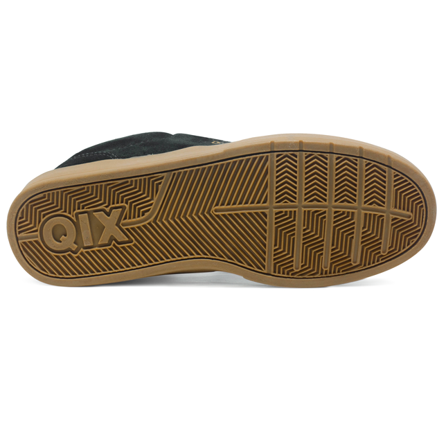 Tênis Qix Base Camurça Preto / Natural