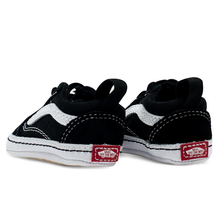 Tênis Vans Baby Old Skool Crib Preto / Branco