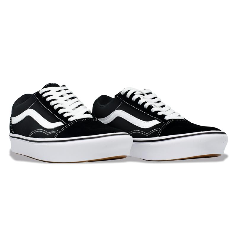 Tênis Vans Comfycush Old Skool Preto / Branco VN0A3WAVNE