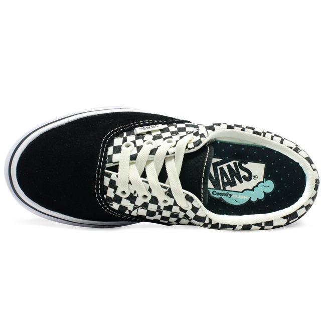 Tênis Vans Era Comfycush (Tear Check) Preto/Branco
