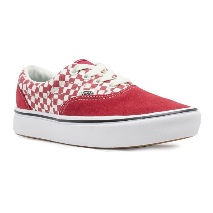 Tênis Vans Era Comfycush (Tear Check) Vermelho / Branco