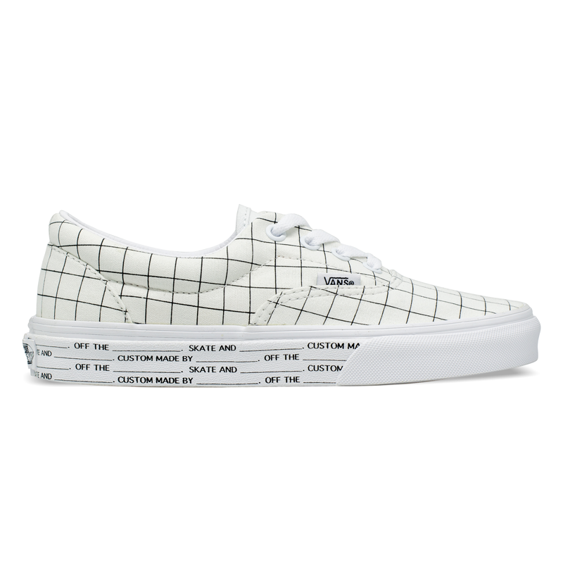Tênis Vans Era U-Color Checkerboerd / True White VN0A4U391UG
