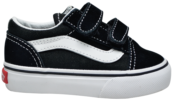 Tênis Vans Old Skool Baby Preto / Branco