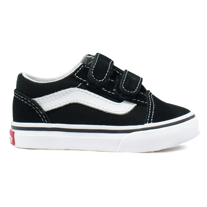 0fd455ee531 Tênis Vans Old Skool Baby Preto   Branco