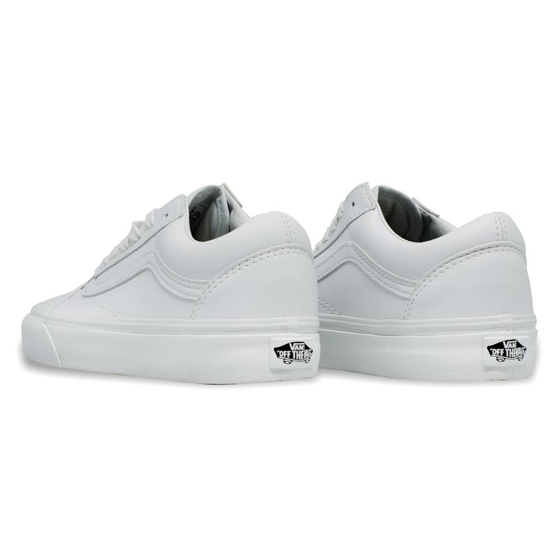 Tênis Vans Old Skool Couro True White