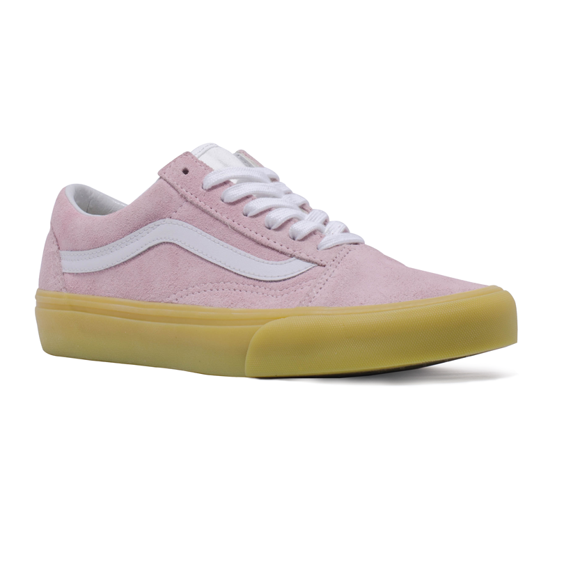 Tênis Vans Old Skool Double Light Gum Rosa