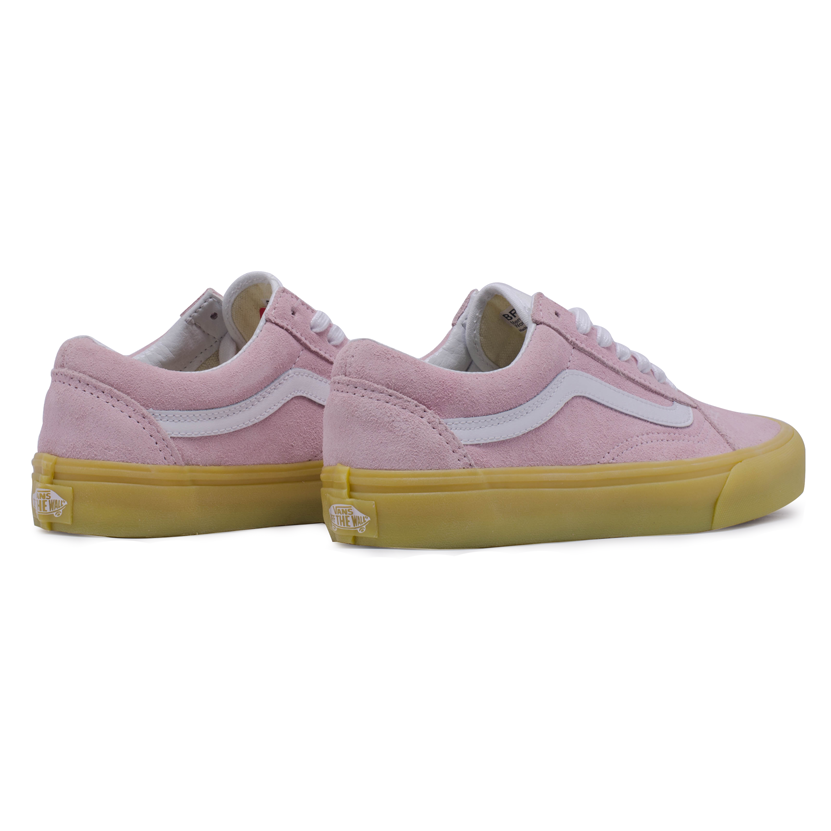 Tênis Vans Old Skool Double Light Gum Rosa