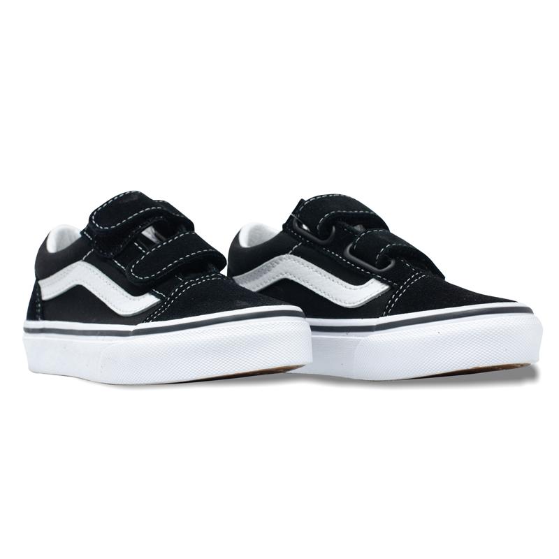 Tênis Vans Old Skool Infantil Preto/Branco