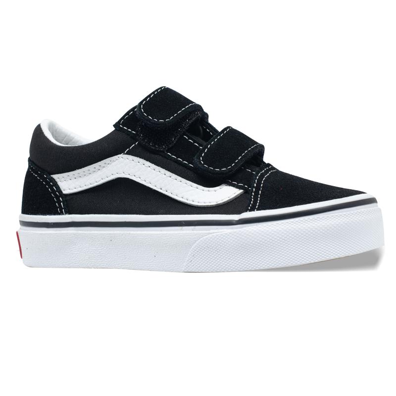 Tênis Vans Old Skool Junior Preto/Branco VN000W9T6BT