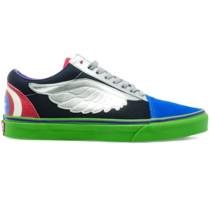 Tênis Vans Old Skool Marvel Avengers