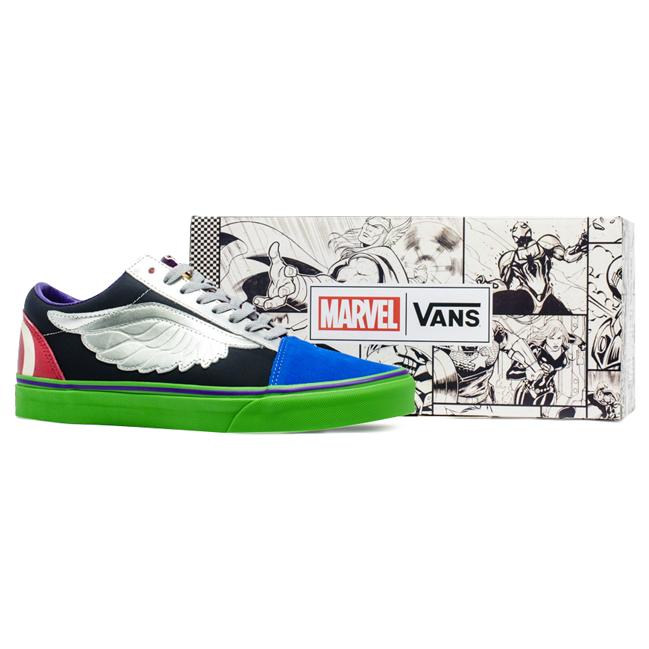 Tênis Vans Old Skool Marvel Avengers