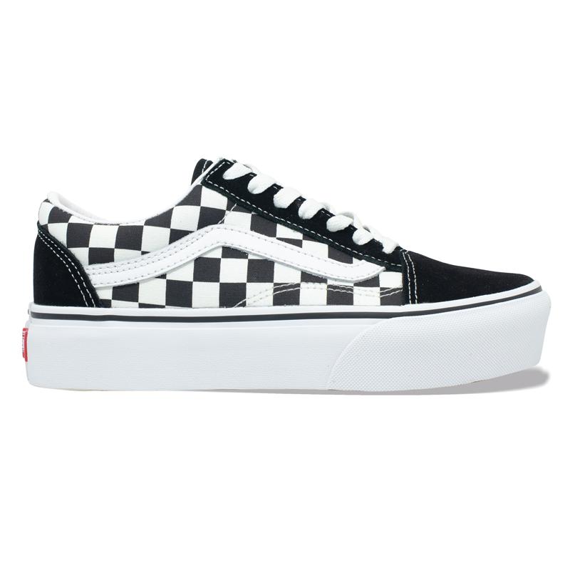 Tênis Vans Old Skool Platafoma Checkerboard VN0A3B3UHRK