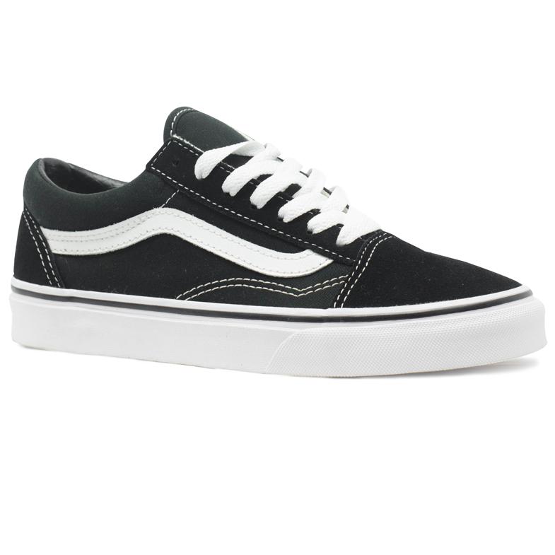 Tênis Vans Old Skool Preto / Branco