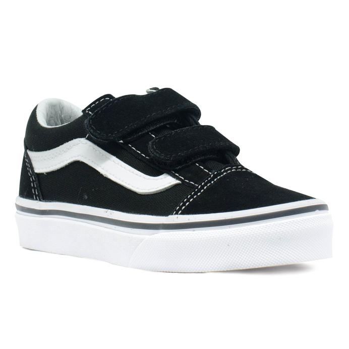 Tênis Vans Old Skool V Infantil Preto / Branco
