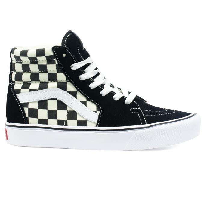 Tênis Vans Sk8 Hi Lite Checkerboard