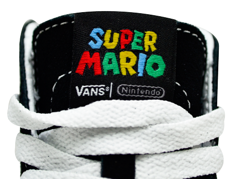 Tênis Vans Sk8 Hi Nintendo Mario e Luigi