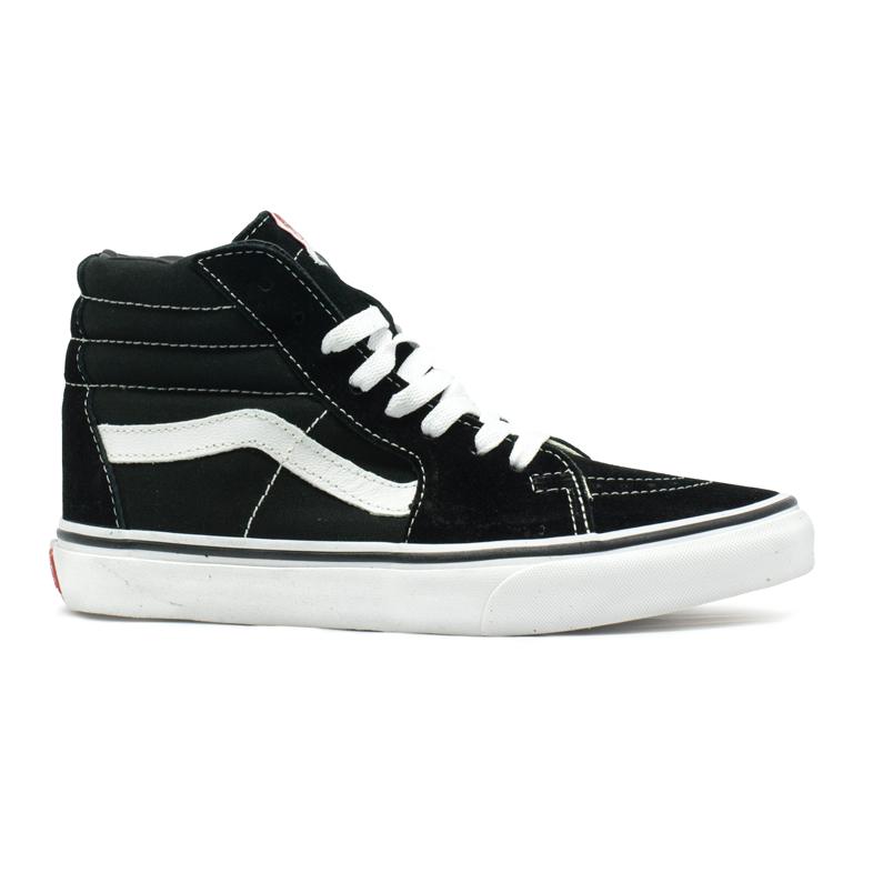 ... Tênis Vans Sk8 Hi Preto   Branco - Via Skate Shop ... 257cc9dc94ac7