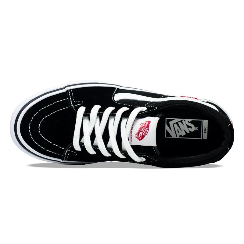 Tênis Vans SK8-Low Pro Black / White VN0A4U3EY28