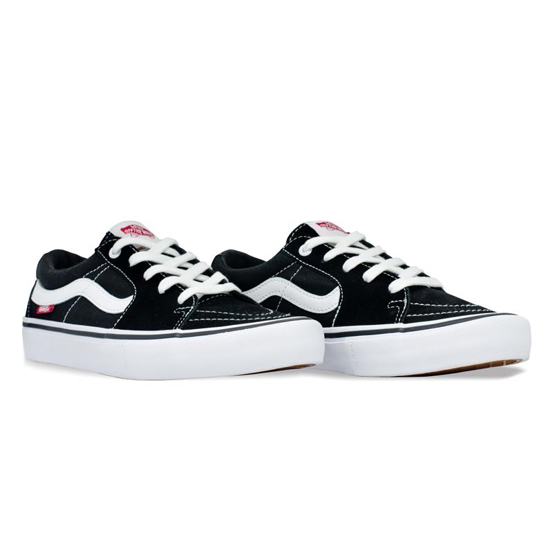 Tênis Vans Sk8-Low Pro Preto / Branco VN0A4U3EY28
