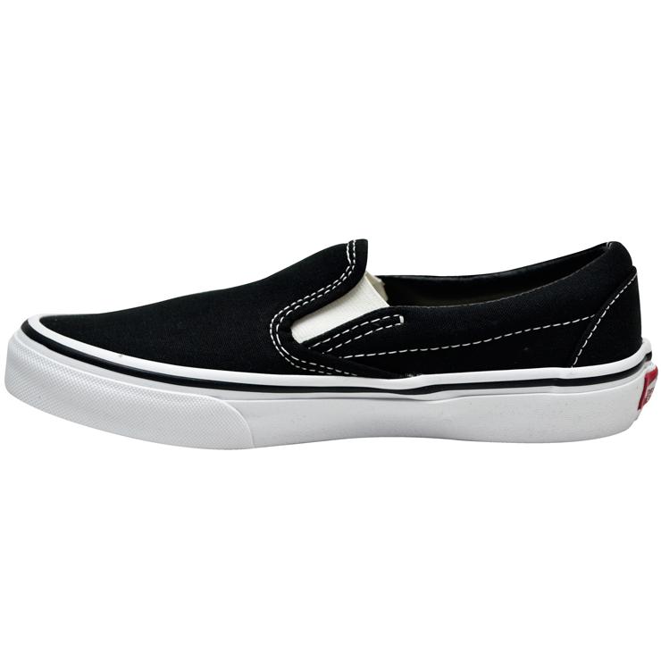 Tênis Vans Slip-On Preto / Branco