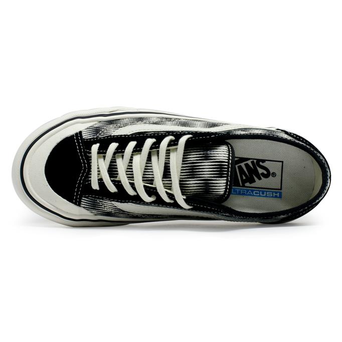 Tênis Vans Style 36 Decon SG Hemp Blur Checker Preto / Branco