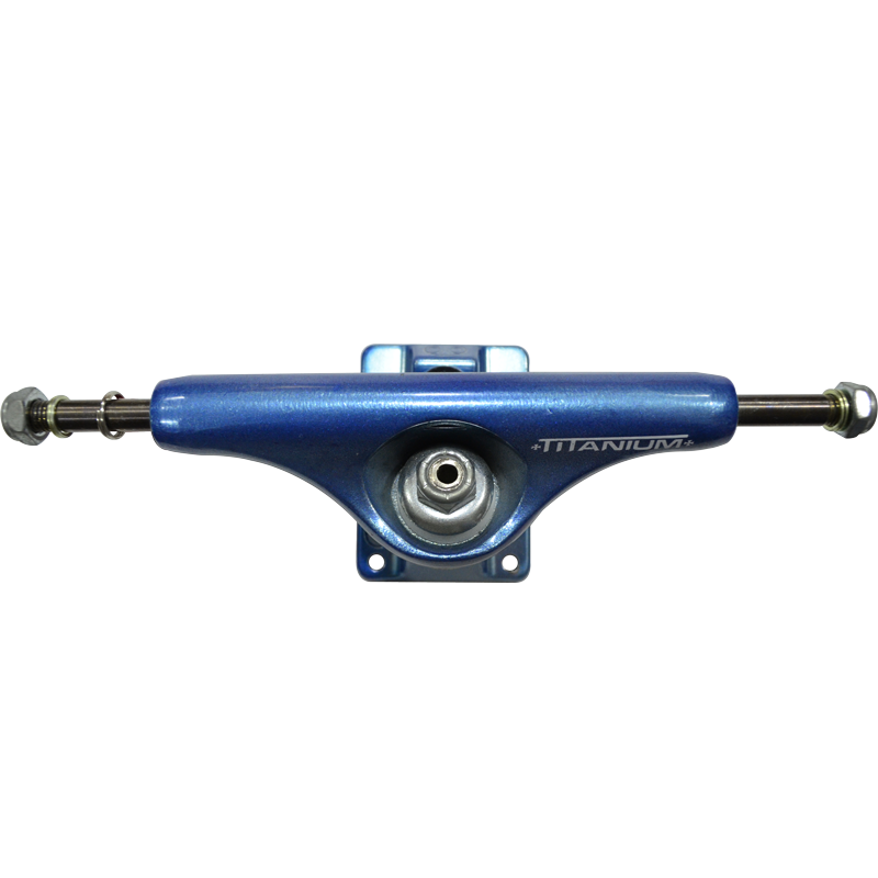 Truck Independent 139mm HI Titanium Parafuso Central Vazado - (1 par)
