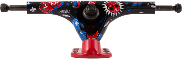 Truck Longboard Paris Kody Noble Pro 180mm HI Invertido - (1 par)