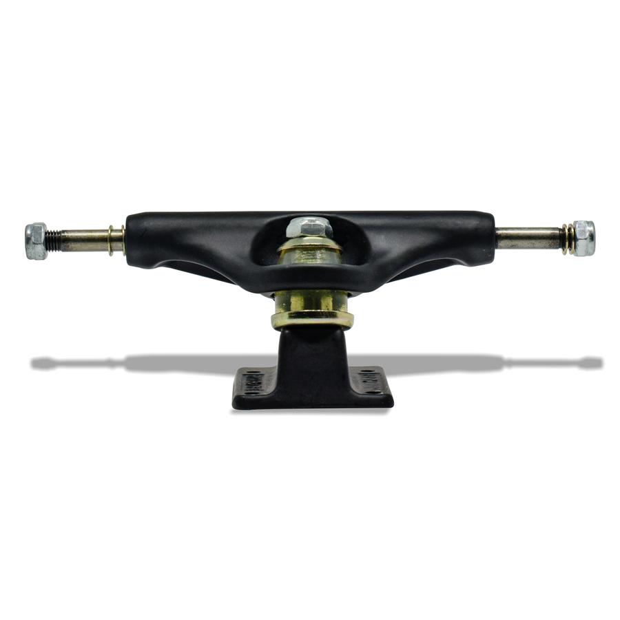 Truck para Skate Stronger 129mm Mid Preto Total