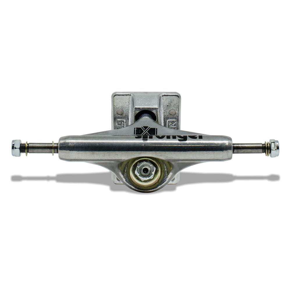 Truck para Skate Stronger 139mm Mid Silver