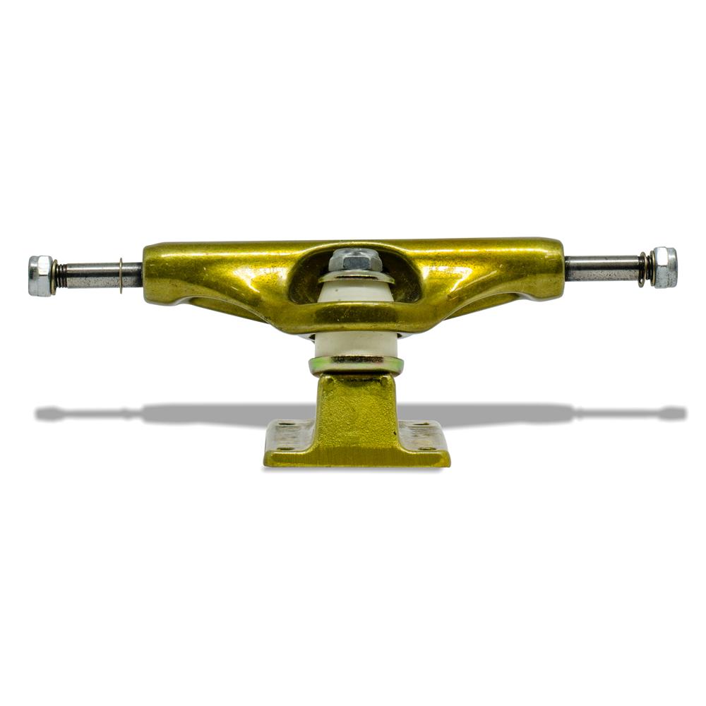 Truck para Skate Stronger 149mm Low Dourado