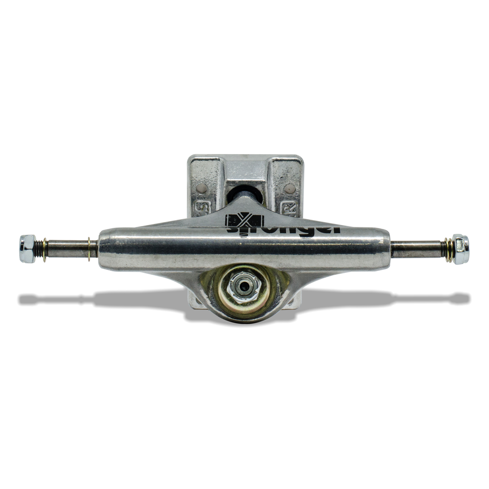 Truck para Skate Stronger 149mm Low Silver