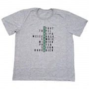 Camiseta Masculina - Estilos de cerveja