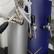 Chopeira elétrica dupla com kit de extração -220v