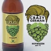 KIT para produção de 20 litros de cerveja Crazy German HopWeizen