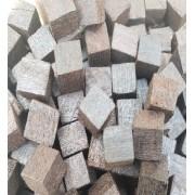 Cubos de madeira freijó - 10g