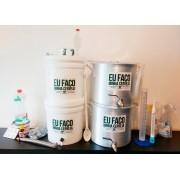 Kit para produção de cerveja 10 litros Bazooka - Completo
