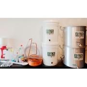 Kit para produção de cerveja 20 litros Bazooka - Completo