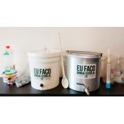 Kit para produzir cerveja em casa 10 litros Bazooka - Básico