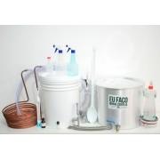 Kit para produção de cerveja 20 litros Bazooka - Iniciante