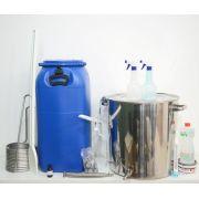 Kit  para produção de cerveja Sinnatrah Inox 50L