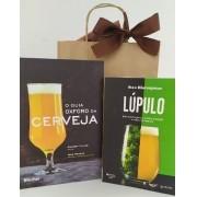 Kit Livro O Guia Oxford da Cerveja + Livro Lúpulo: Guia Prático para o Aroma, Amargor e Cultivo de Lúpulos