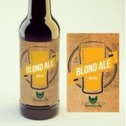 KIT para produção de 20 litros de cerveja do estilo Blonde Ale