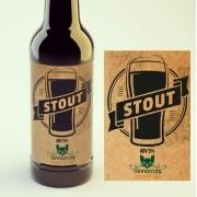 KIT para produção de 20 litros de cerveja do estilo American Stout