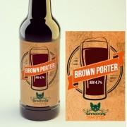 KIT para produção de 20 litros de cerveja do estilo Brown Porter