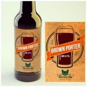 KIT para produção de 20 litros de cerveja do estilo English Porter