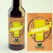 KIT para produção de 20 litros de cerveja do estilo German Pils