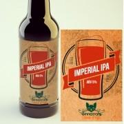 KIT para produção de 20 litros de cerveja do estilo Imperial IPA