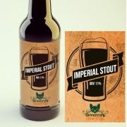KIT para produção de 20 litros de cerveja do estilo Imperial Stout
