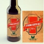 KIT para produção de 20 litros de cerveja do estilo Strong Scotch Ale